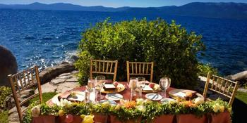 Thunderbird Lodge Lake Tahoe Weddings in Incline Village NV