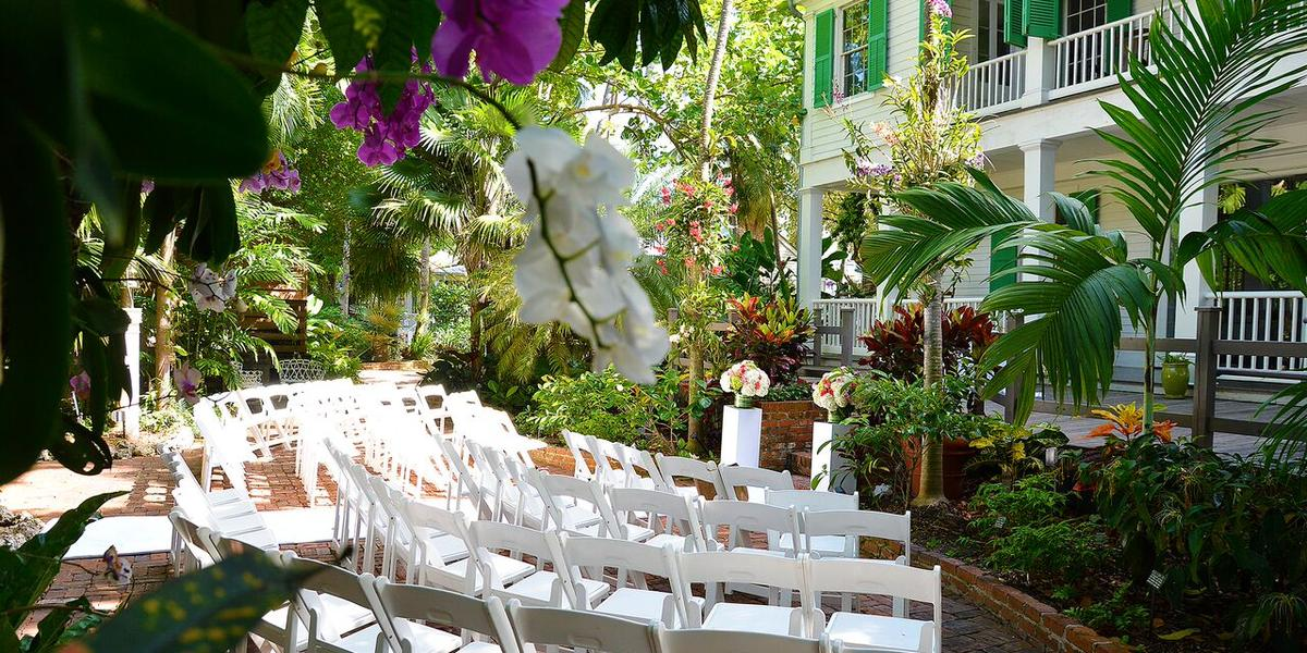 Historic Home Tropical Gardens Weddings