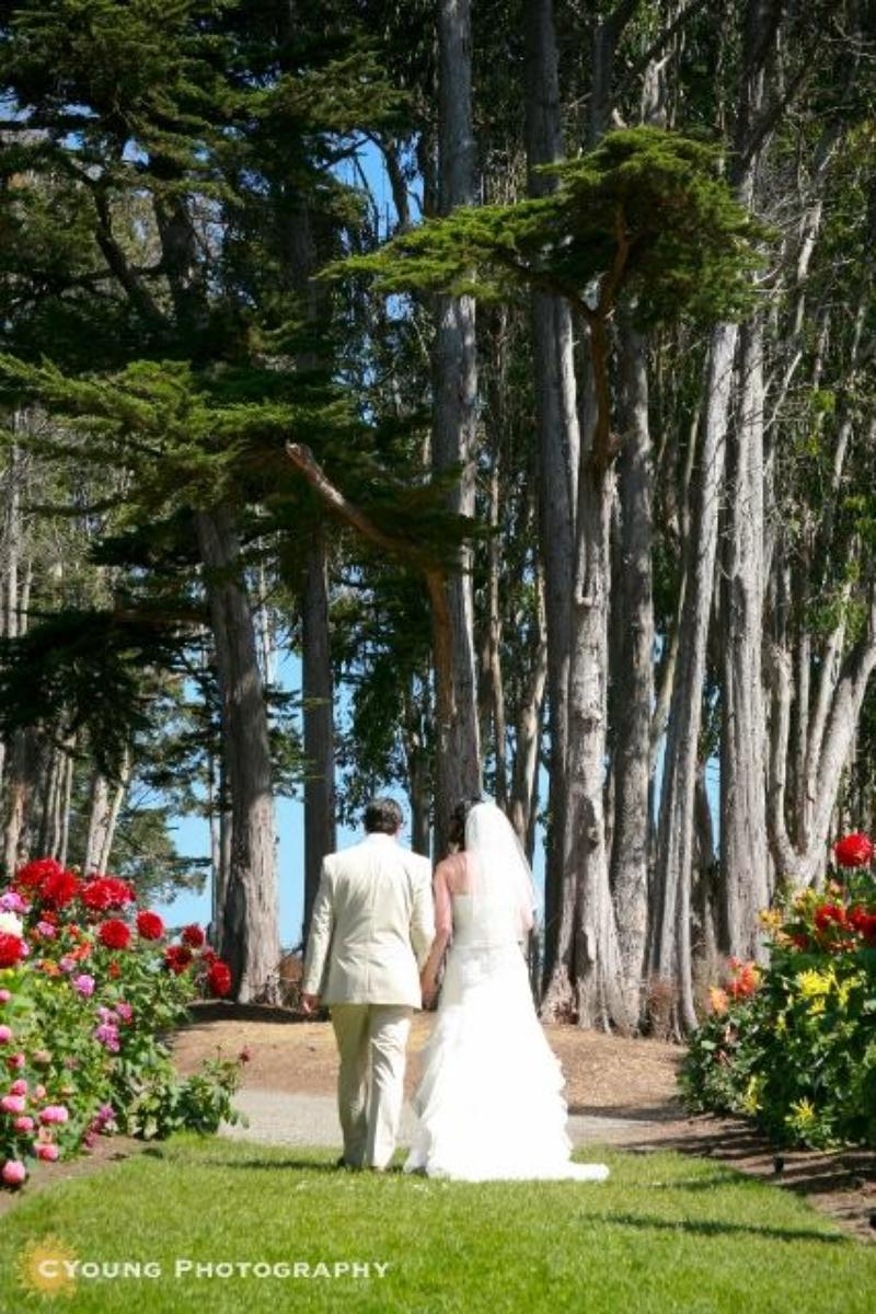 Mendocino Coast Botanical Gardens wedding venue picture 9 of 14 - Photo by: CYoung Photography