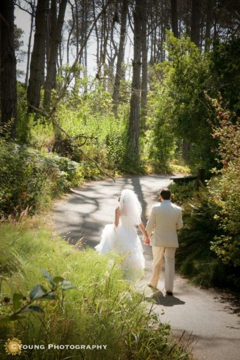 Mendocino Coast Botanical Gardens wedding venue picture 5 of 14 - Photo by: CYoung Photography