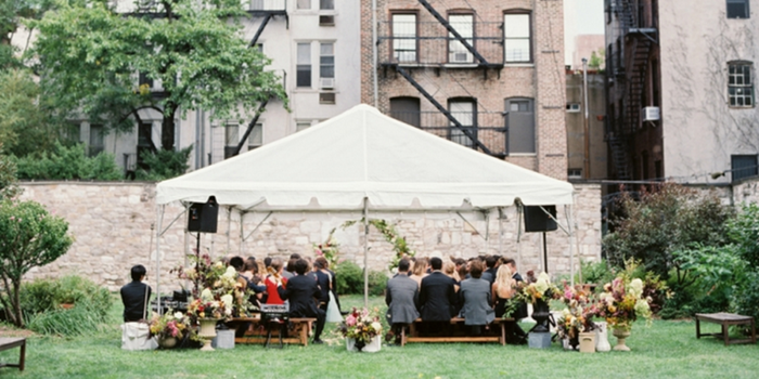 New York Marble Cemetery wedding venue picture 8 of 16 - Photo by: Kate Ignatowski Photography