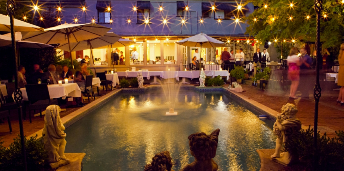 Depot hotel restaurant and garden events get prices for for Best wedding venues in california