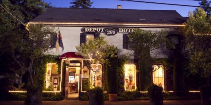 Depot Hotel Restaurant Sonoma California