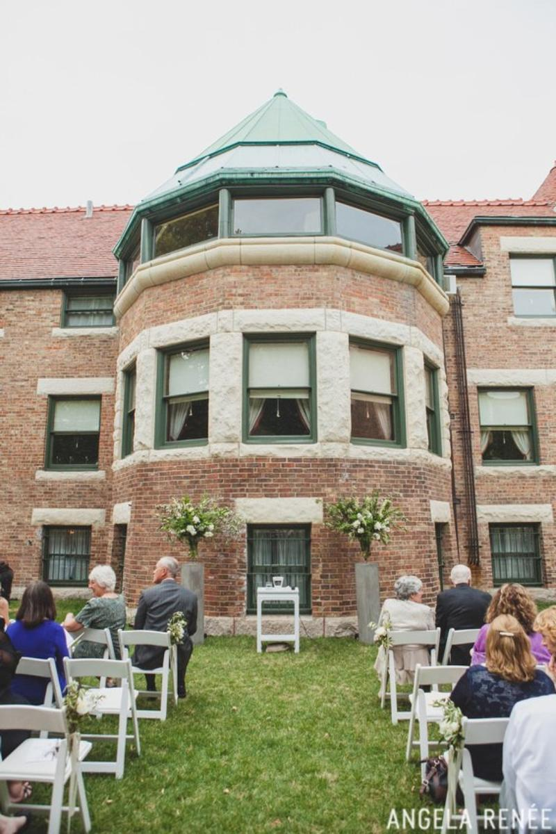 Glessner House Museum wedding venue picture 2 of 12 - Photo by: Angela Renee Photography