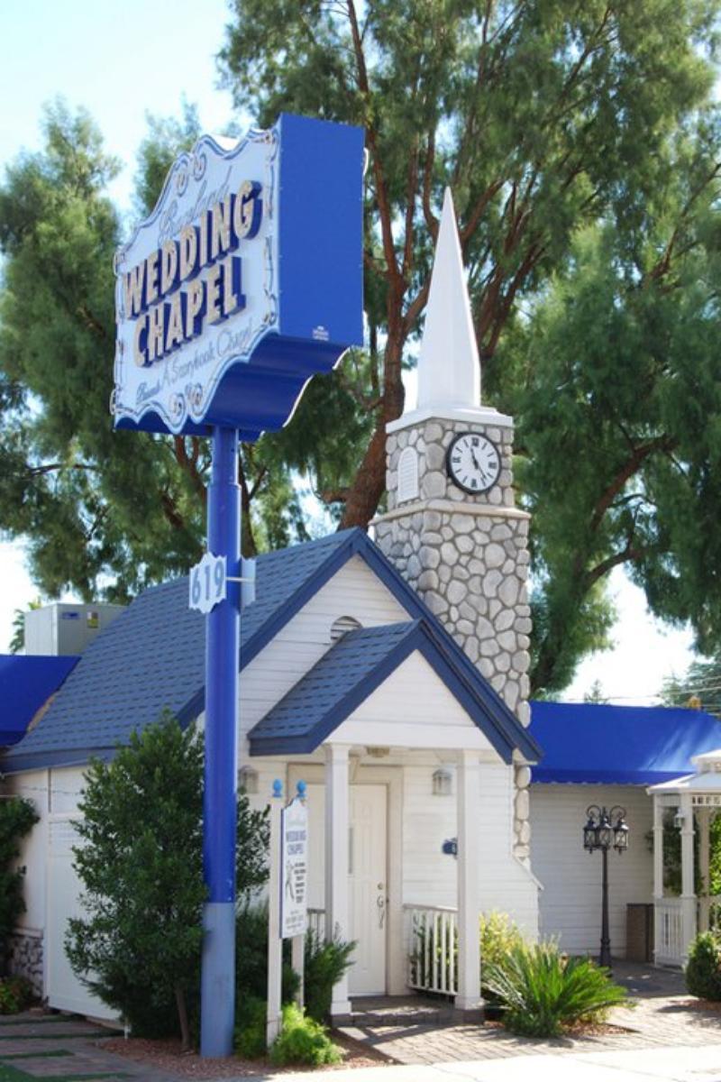 Wedding Chapels In Las Vegas Nv  Bilders