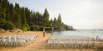 Round Hill Pines Beach Resort Weddings in Zephyr Cove NV