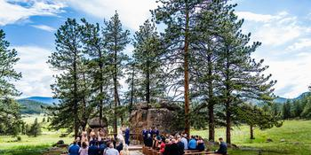 Deer Creek Valley Ranch weddings in Bailey CO