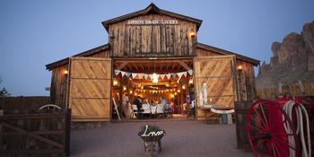 Historic Mining Camp weddings in Apache Junction AZ