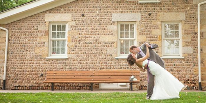 Weddings at Lakewood Stone House wedding venue picture 1 of 8 - Photo by: Ryan Olsen Photography