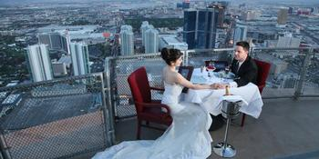 The Chapel in the Clouds at the Stratosphere Hotel weddings in Las Vegas NV