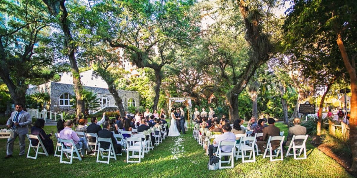 The Womans Club Of Coconut Grove Weddings