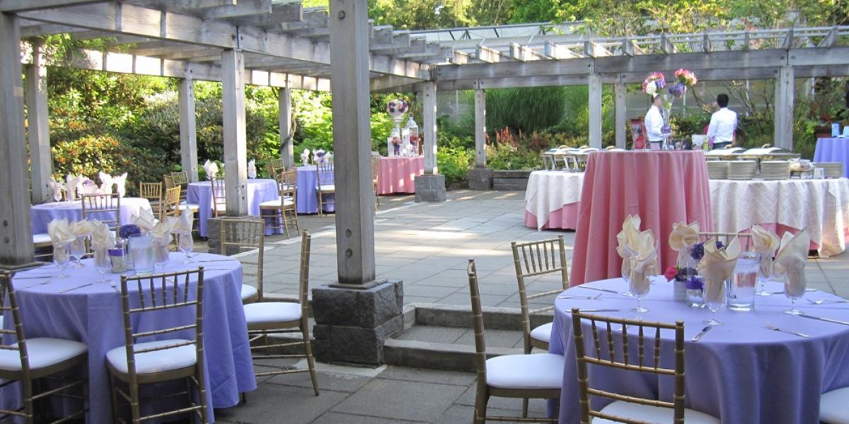 Wisteria hall in the washington park arboretum weddings for Zenith garden rooms