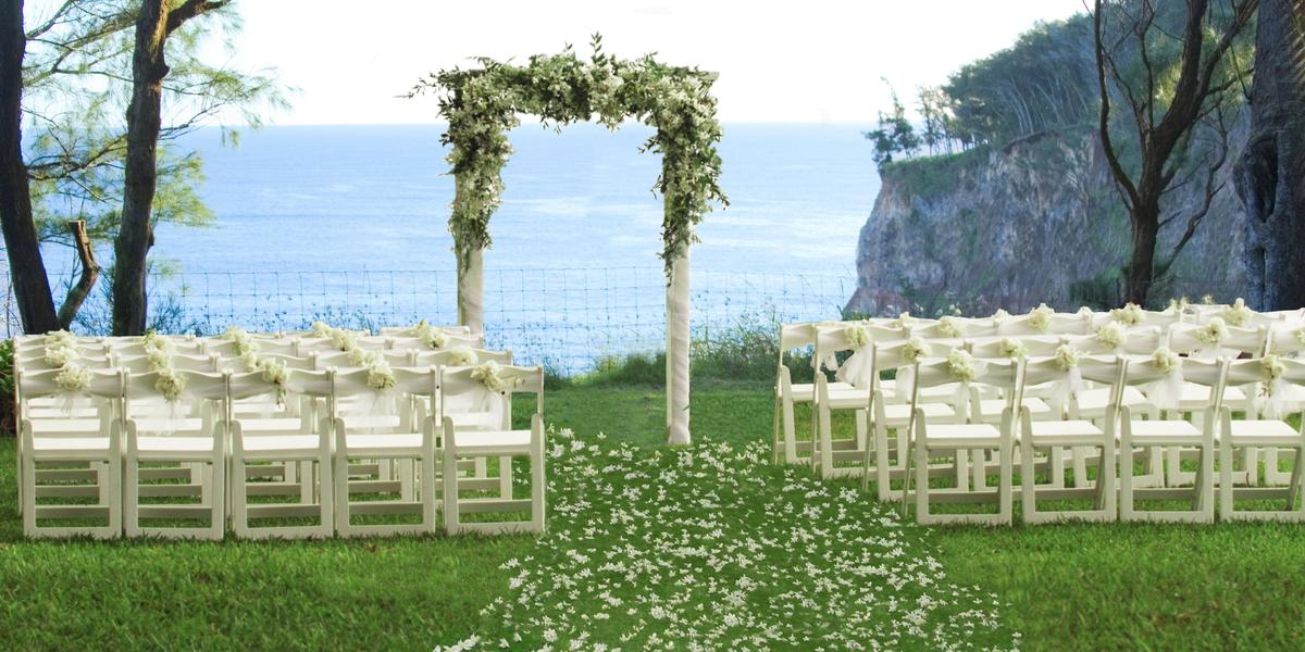 Ahu Ahu Villas Wedding