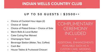 Indian Wells Country Club weddings in Indian Wells CA