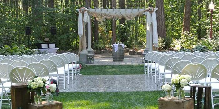 Outdoor Woods Wedding Ceremony: Get Prices For Wedding Venues In OR