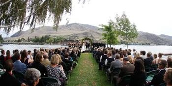 Campbell's Resort on Lake Chelan weddings in Chelan WA