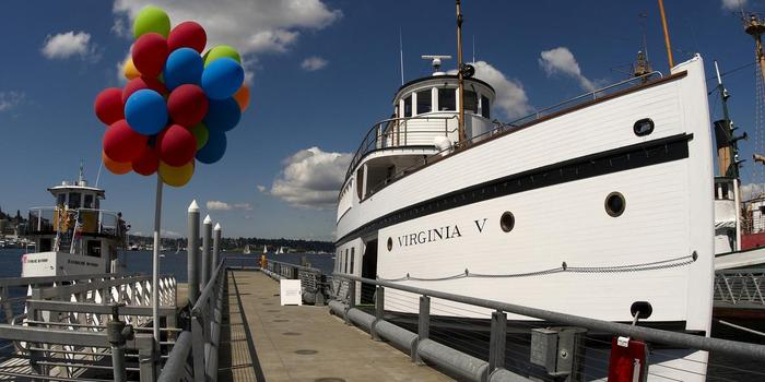 The Steamship Virginia V wedding venue picture 6 of 16 - Provided by: The Steamship Virginia V