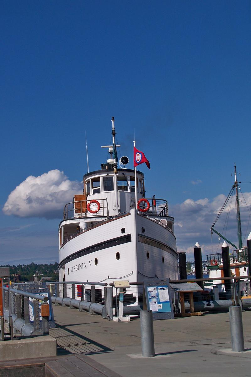 The Steamship Virginia V wedding venue picture 8 of 16 - Provided by: The Steamship Virginia V