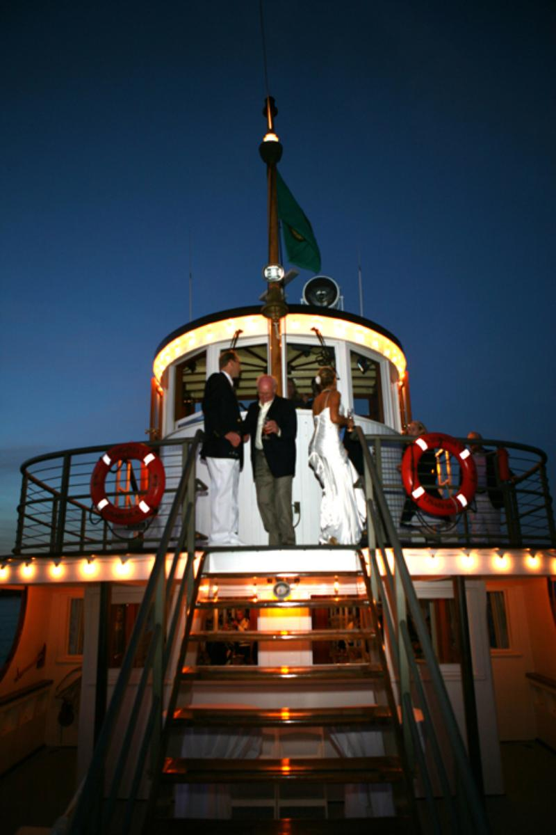 The Steamship Virginia V wedding venue picture 14 of 16 - Provided by: The Steamship Virginia V