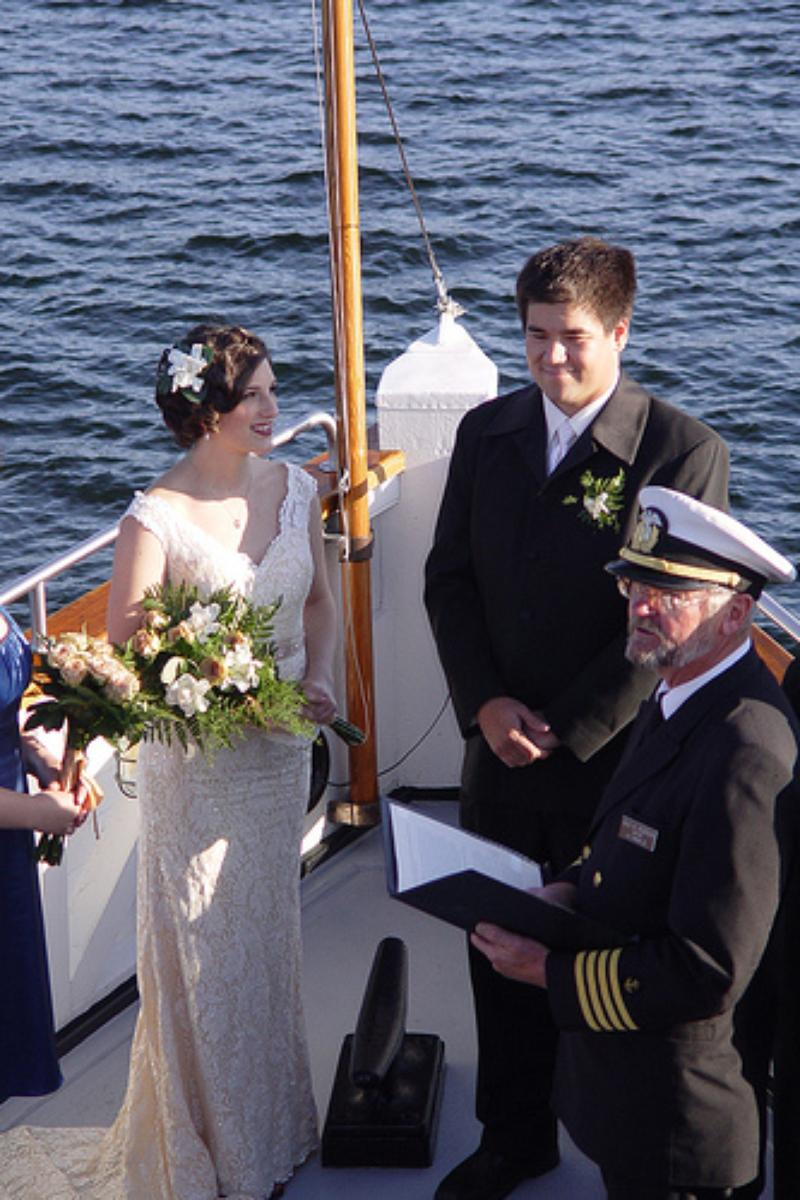 The Steamship Virginia V wedding venue picture 15 of 16 - Provided by: The Steamship Virginia V