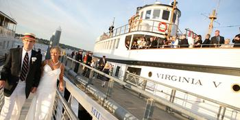 The Steamship Virginia V weddings in Seattle WA