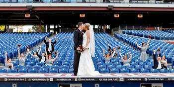 Citizens Bank Park weddings in Philadelphia PA