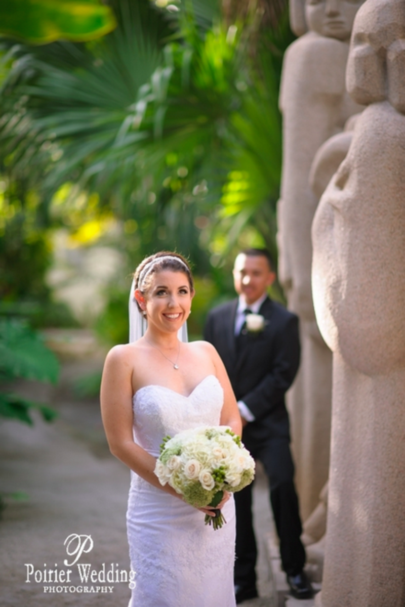 Ann Norton Sculpture Gardens wedding venue picture 10 of 15 - Photo by: Poirier Wedding Photography