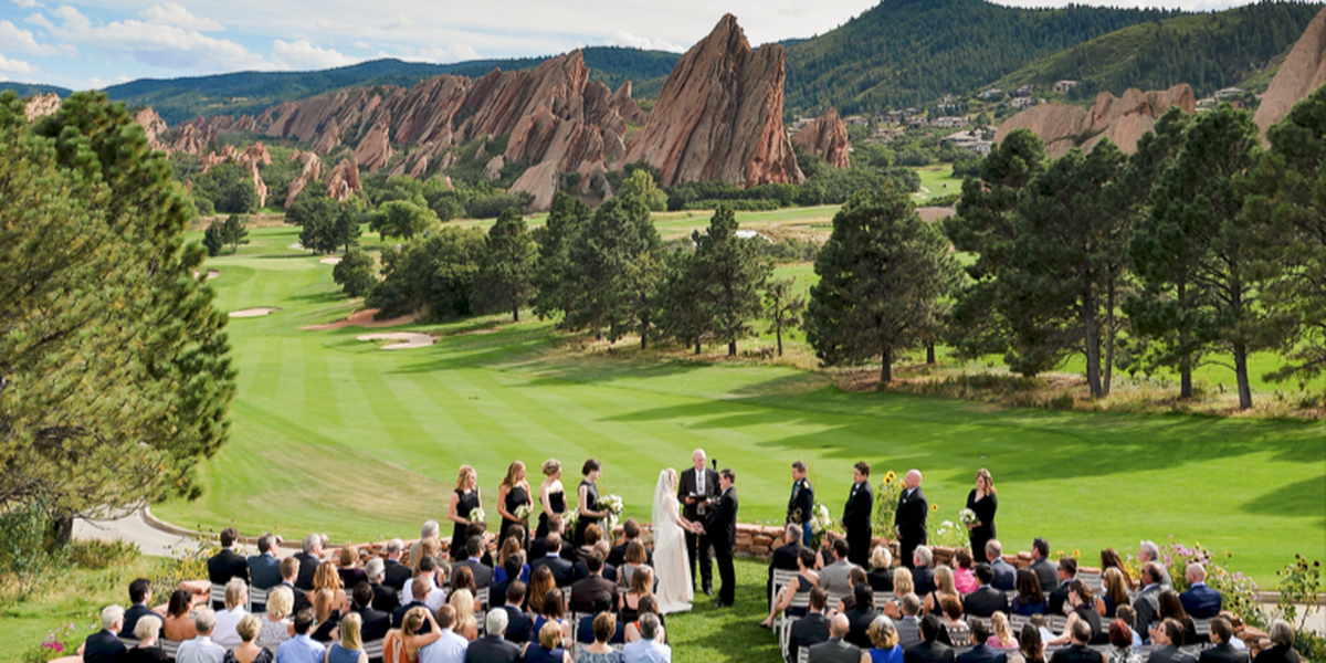 Arrowhead golf club weddings get prices for wedding for Places to have a wedding in colorado