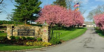 Country Club of Maryland weddings in Towson MD