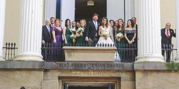 Old Pine Street Church weddings in Philadelphia PA