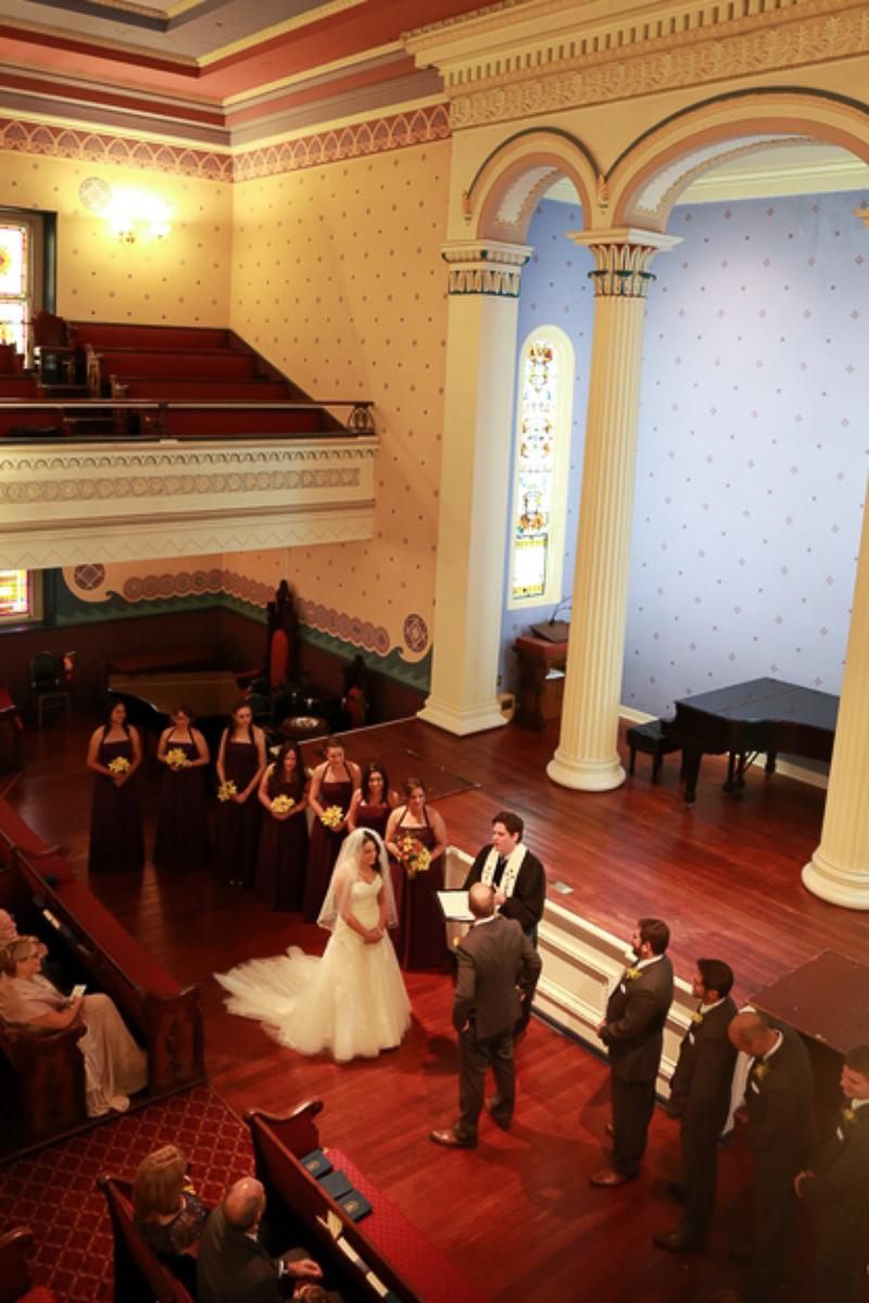 Old Pine Street Church wedding venue picture 3 of 8 - Photo by: Tony Seligson Photography