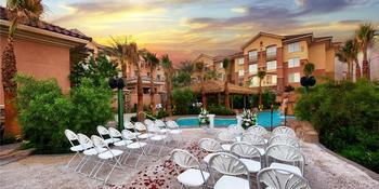 Hawaiian Garden Weddings at the Hilton Garden Inn Weddings in Las Vegas NV