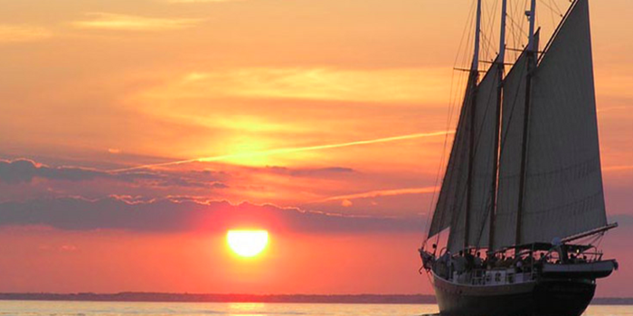 Yorktown Sailing Charters wedding Virginia Beach