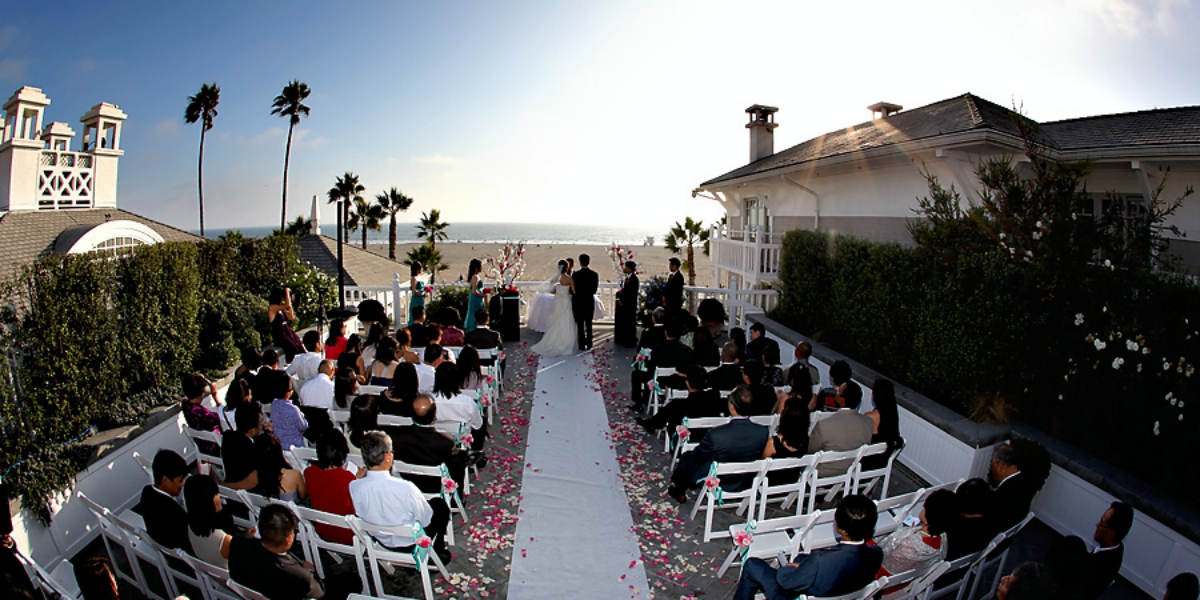 Shutters On The Beach Weddings Get Prices For Los