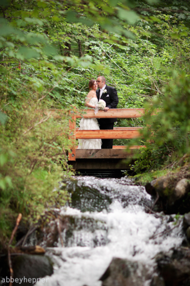 The Cedar River Watershed Education Center wedding venue picture 6 of 8 - Photo by: Abbey Hepner Photography