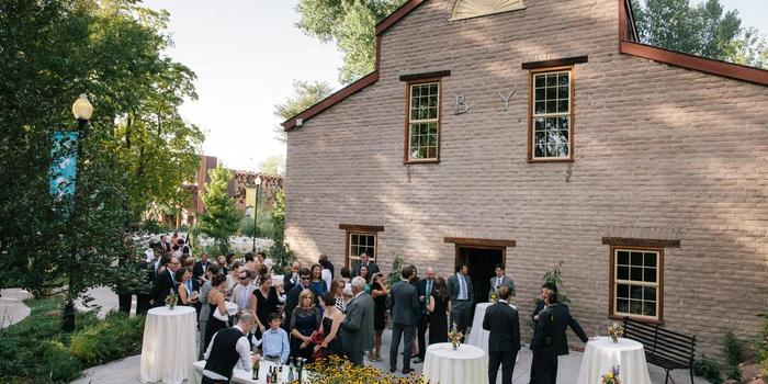 The Chase Mill At Tracy Aviary wedding Salt Lake City