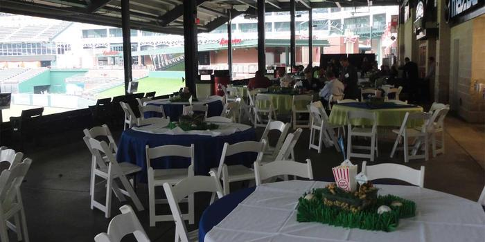 Globe Life Park in Arlington wedding venue picture 13 of 16 - Provided by: Texas Rangers Ballpark