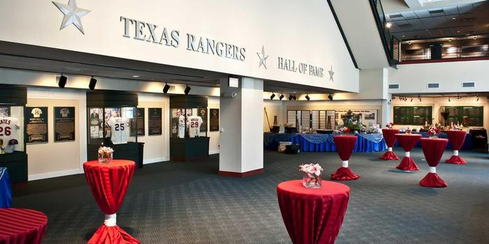 Globe Life Park in Arlington wedding venue picture 6 of 16 - Provided by: Texas Rangers Ballpark