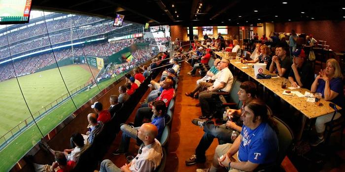 Globe Life Park in Arlington wedding venue picture 16 of 16 - Provided by: Texas Rangers Ballpark