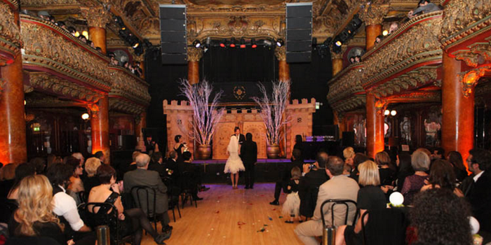 Great American Music Hall wedding venue picture 12 of 16 - Photo by: Christina Diane Photography