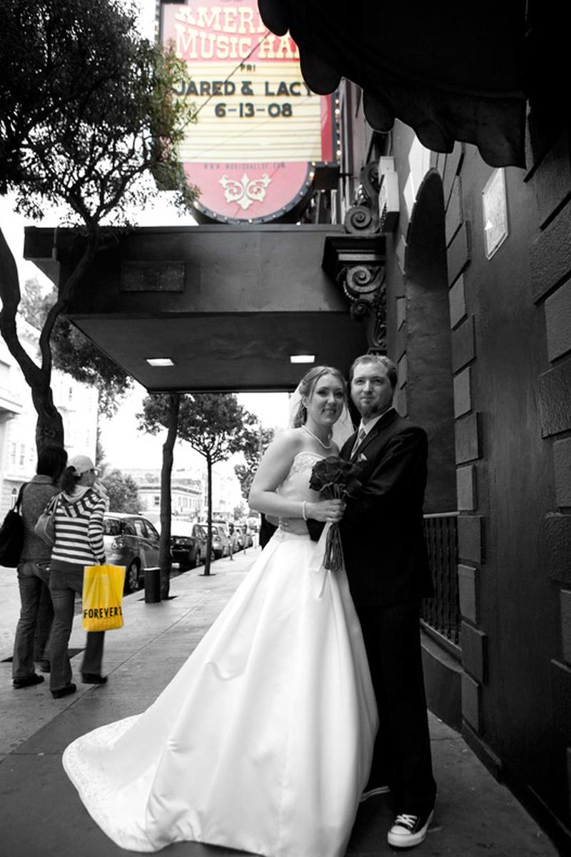 Great American Music Hall wedding venue picture 10 of 16 - Photo by: Perlman & R. Lutge Photography