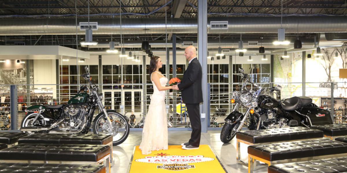 Harley Davidson Wedding: Las Vegas Harley Davidson Wedding Chapel Weddings