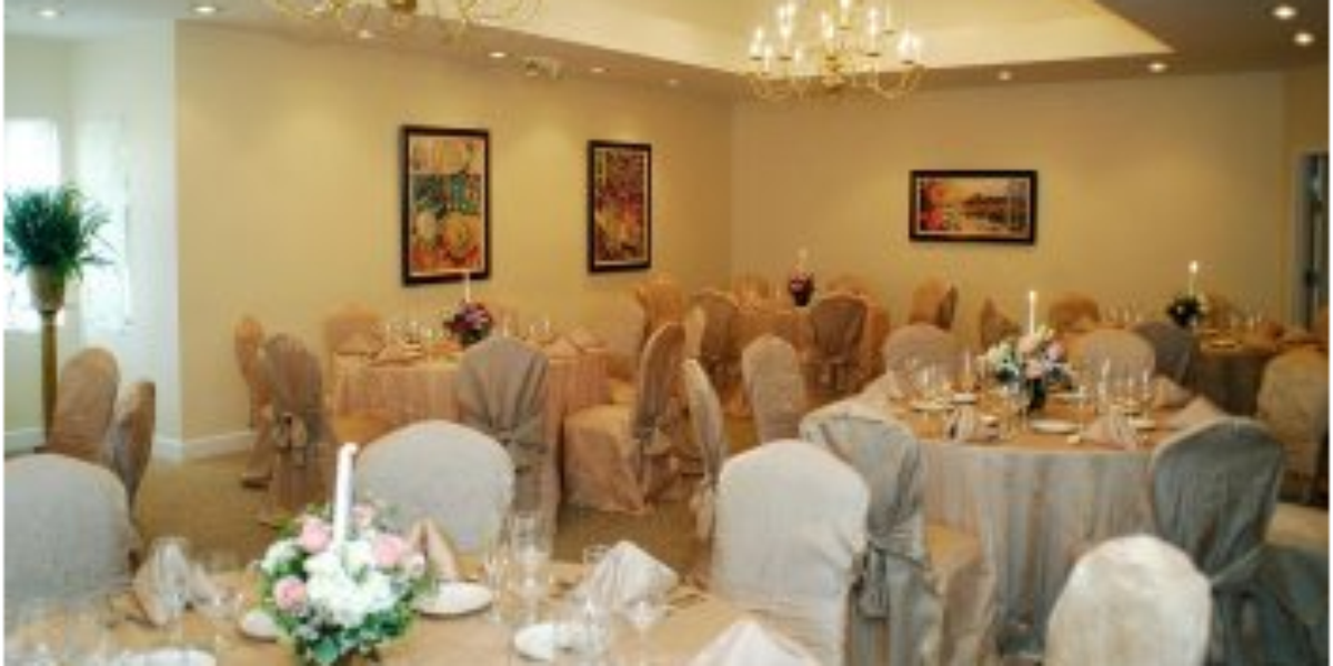 The Milano Room At Amici Weddings