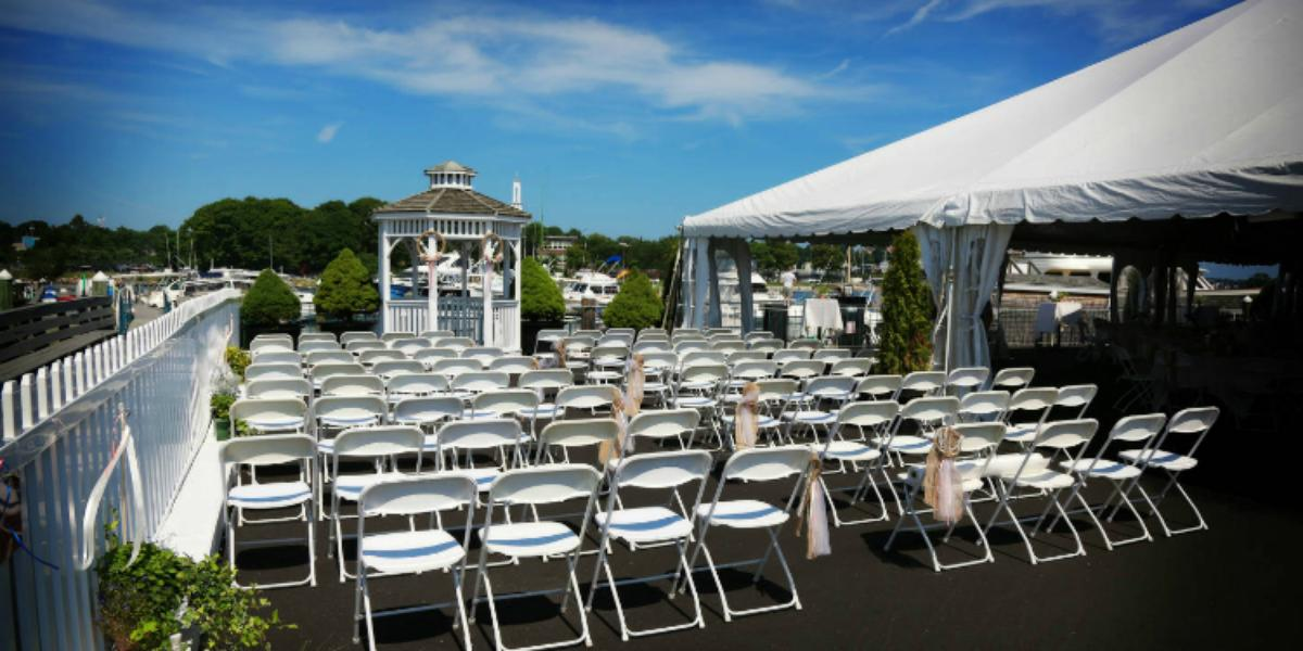 Waterfront Pavilion At Cape Anns Marina Resort Weddings