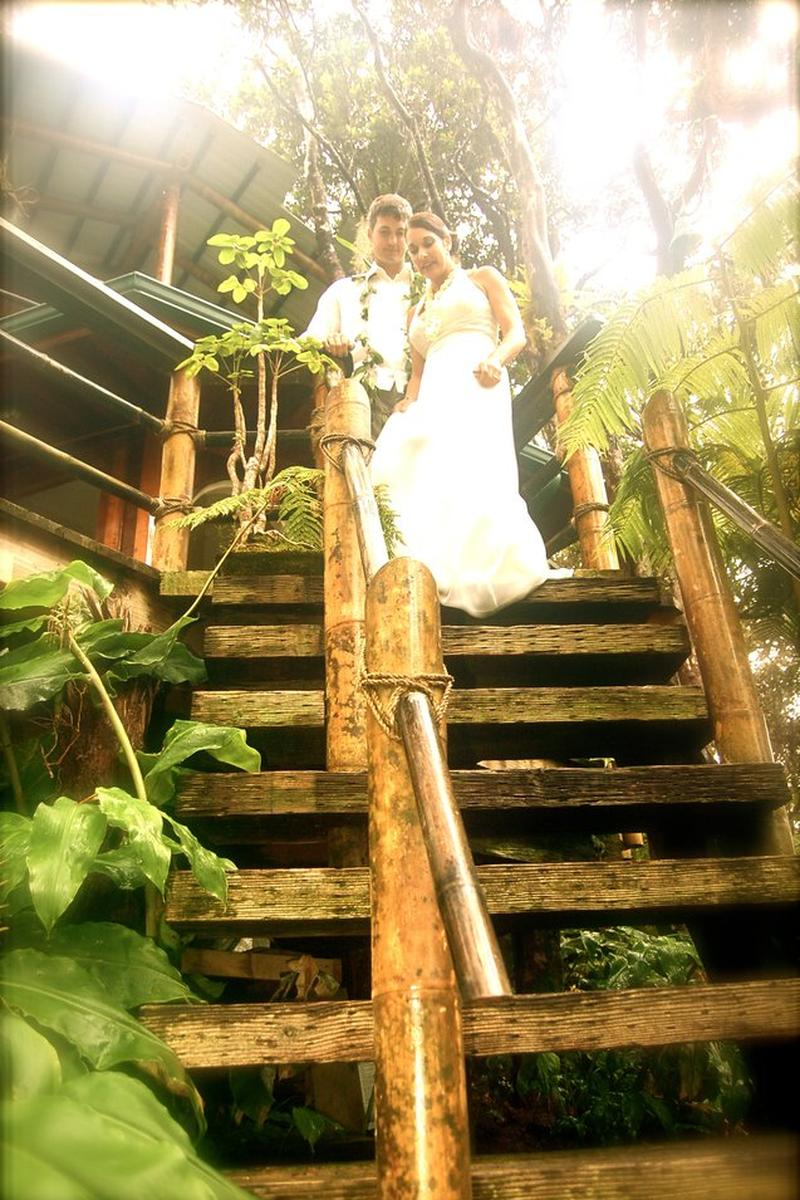 Mahinui Rainforest Weddings wedding venue picture 3 of 16 - Provided by:  Mahinui Rainforest Weddings