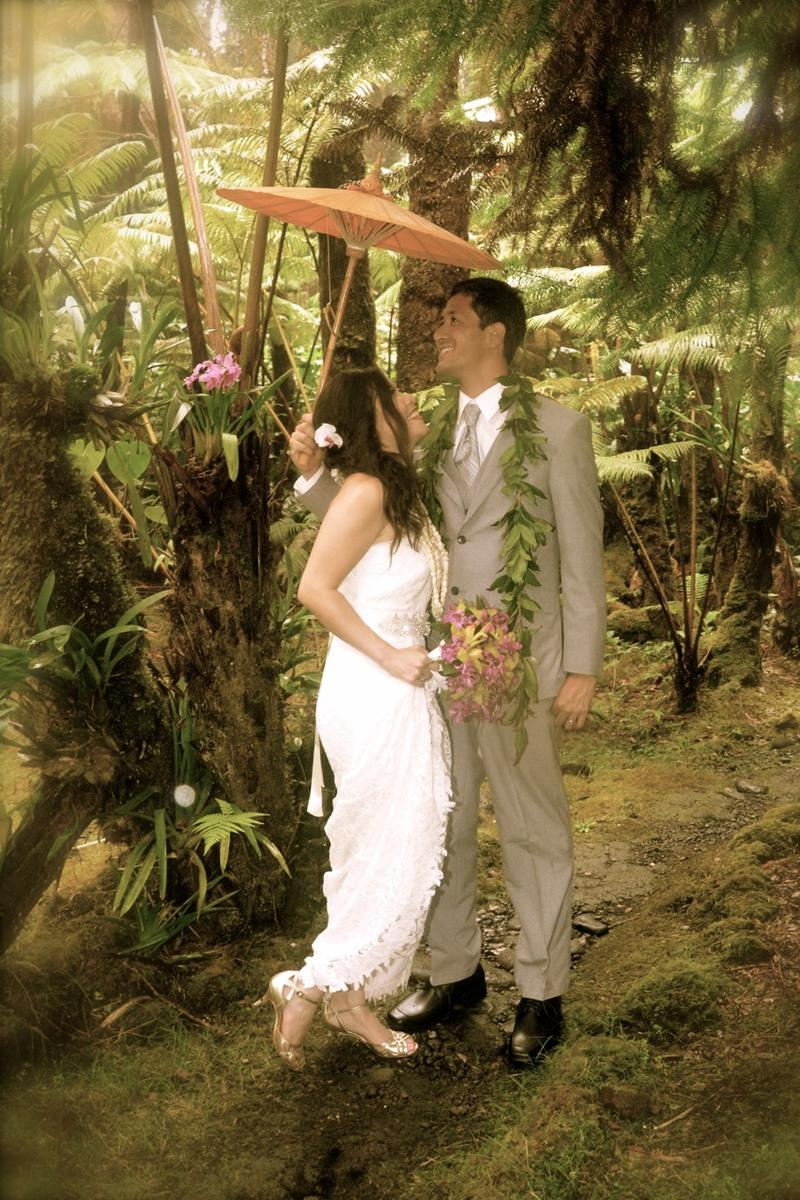 Mahinui Rainforest Weddings wedding venue picture 6 of 16 - Provided by:  Mahinui Rainforest Weddings