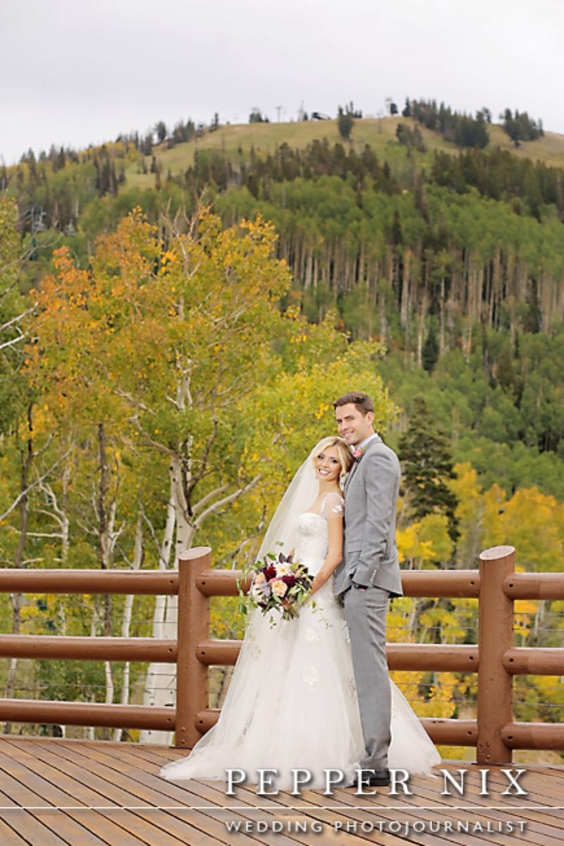 Stein Eriksen Lodge Deer Valley wedding venue picture 12 of 13 - Photo by: Pepper Nix Photography