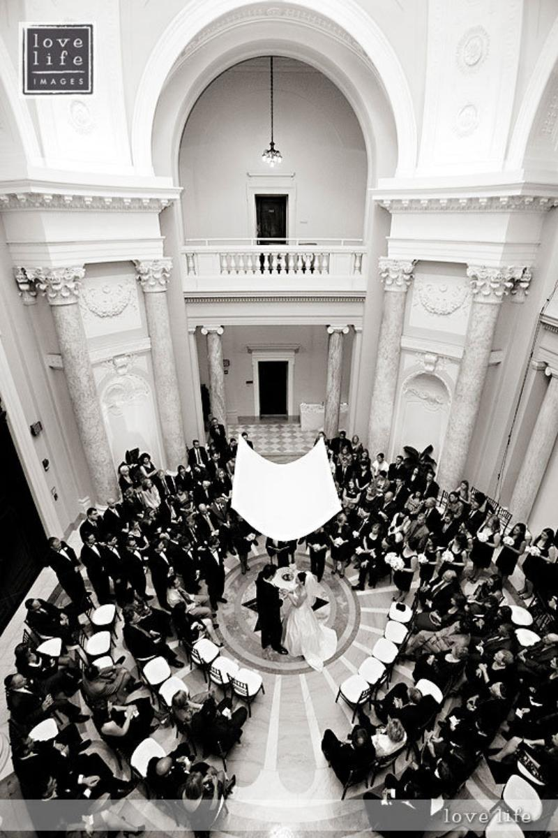 Carnegie Institution for Science wedding venue picture 6 of 16 - Photo by: Lovelife Photography