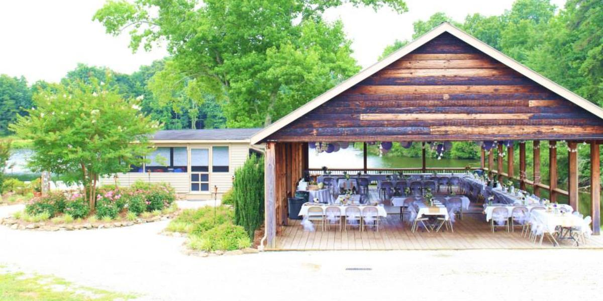 The Carolyn Baldwin Lake Pavilion Weddings