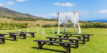 Panoramic Paradise at Maui Dragon Fruit Farm weddings in Lahaina HI